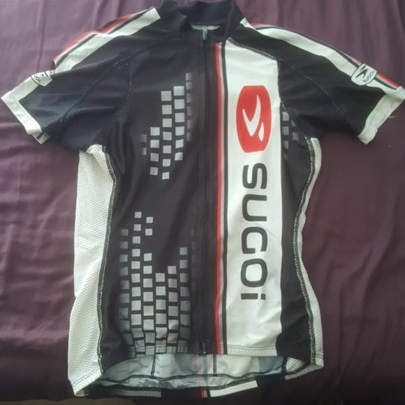 Sugoi Tour Of California Bicycle Jersey Men Size Medium